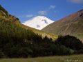 Вид на Эльбрус. 2 день похода
