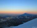 Тень от вершины Эльбруса