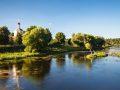 Тихое и уютное село Васильевское.