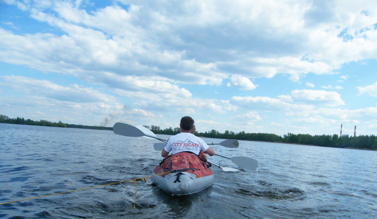 Сплав по Шатурским озерам