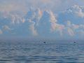 Облака на Белым морем