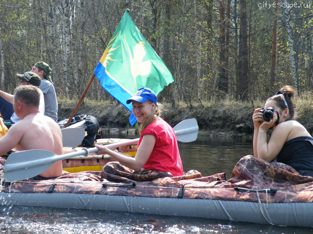 Водный поход по реке Пра