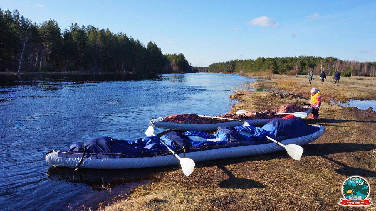 Сплав по реке Клязьма