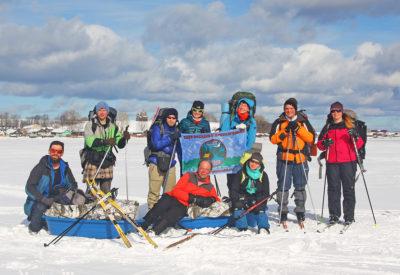 Лыжный поход по Кенозерью прошел успешно