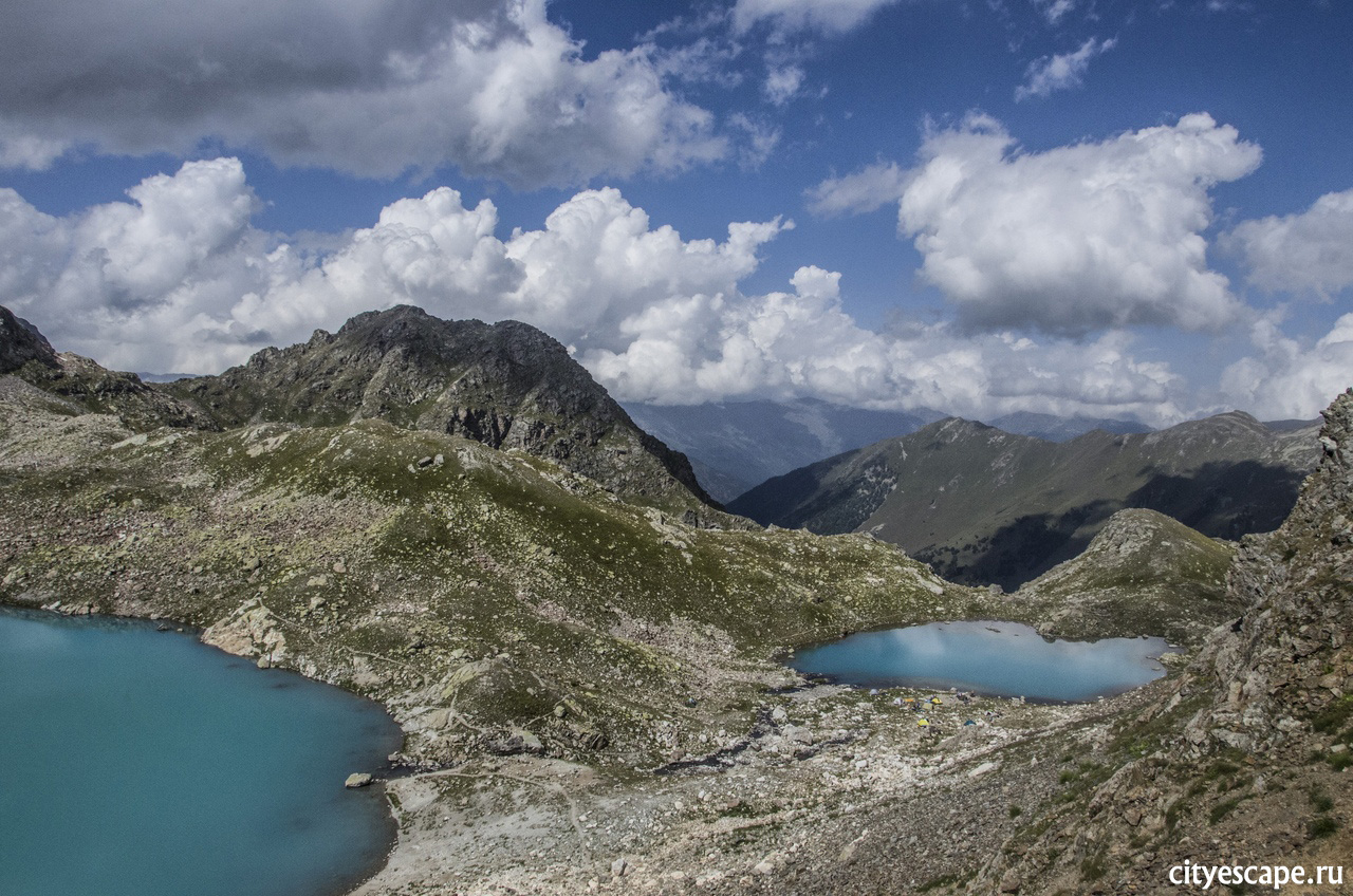 Голубые озера Архыза