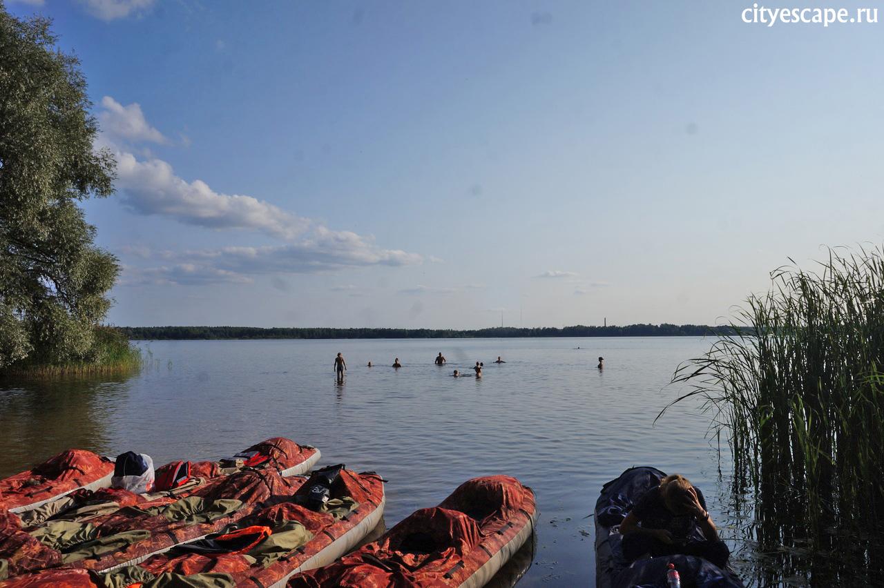 Сплав по Шатурским озерам прошел успешно